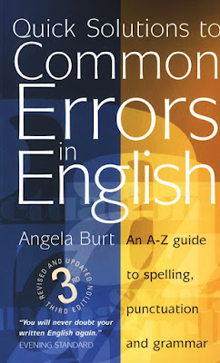 Quick Solution to Common Errors in English