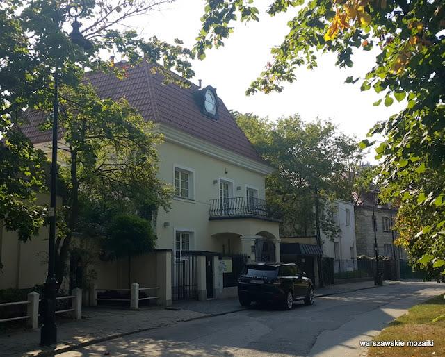 Warszawa Warsaw Sadyba Oficerska wille Mokotów