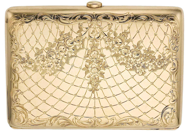 1890s? gold cigarette case photo