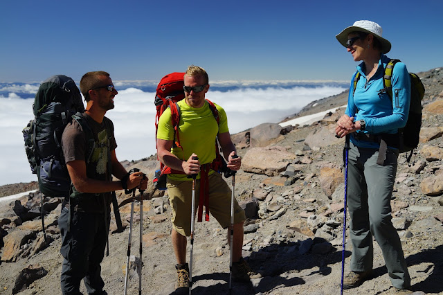 New Episode - Rock the Park Meets Secretary Sally Jewell on Mt. Rainier