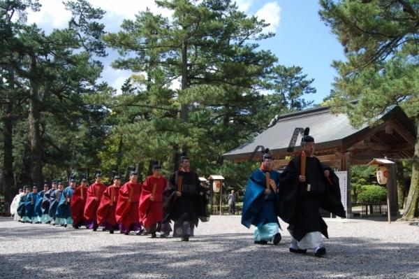 Izumo-Taisha Daisairei at Izumo Taisha Shrine and others, Izumo, Shimane