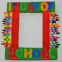 First Day Of School Photo Frame Craft Mom On Timeout