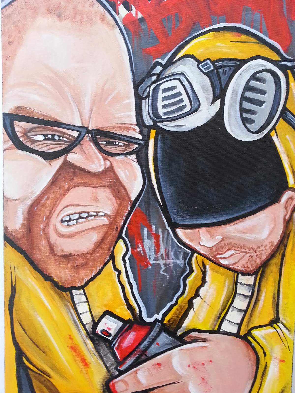 http://hoakser.bigcartel.com/product/breaking-bad-spraycan-bad-graffiti-acrylic-on-canvas-original