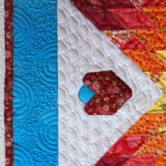 Detailfoto quiltwerk