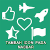 Cara Gampang Menambah Icon di Navbar