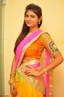 Lucky Sree in dasling Pink Saree and Orange Choli DSC 0366 1600x1063.JPG