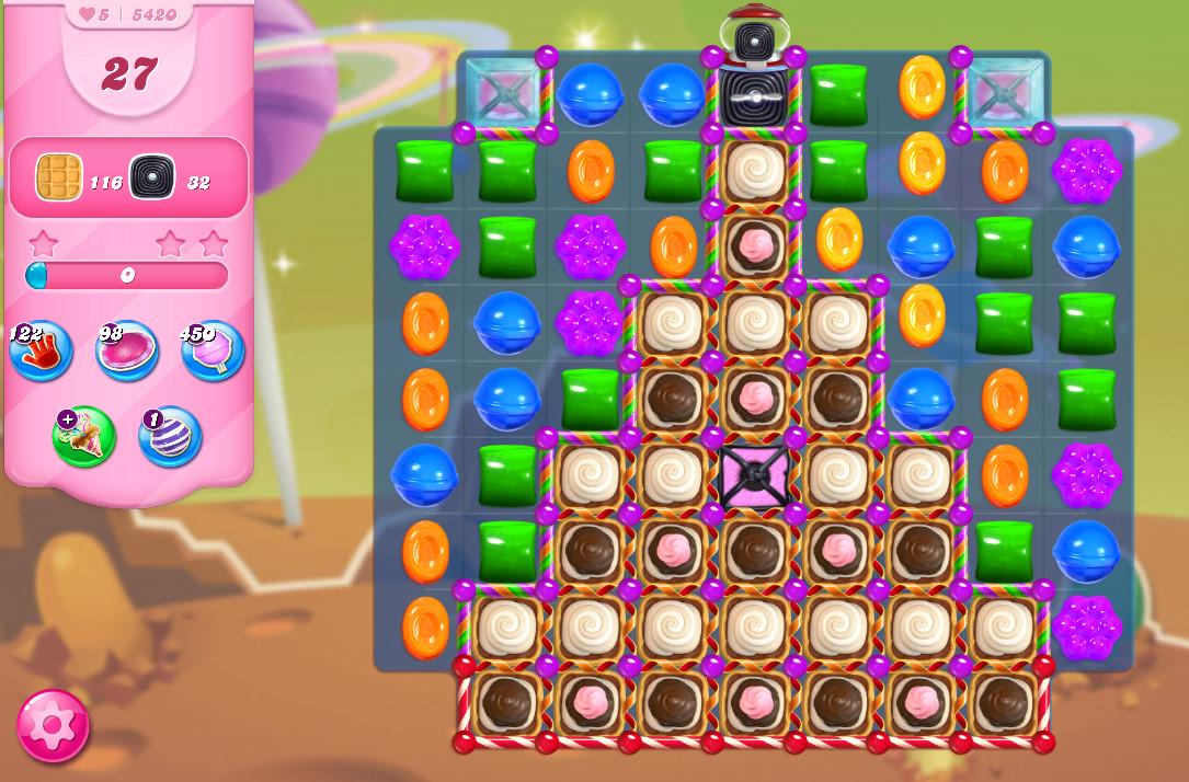 Candy Crush Saga level 5420