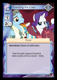 My Little Pony Cracking the Case Marks in Time CCG Card