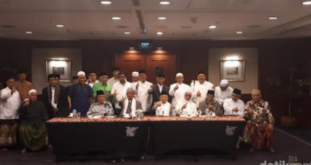 Kiai Sepuh NU Isyaratkan All Out Menangkan Jokowi-Ma'ruf