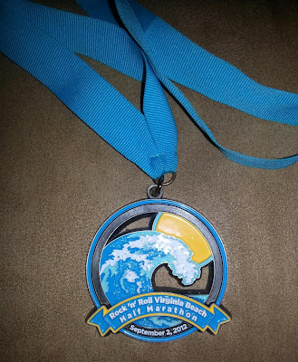 rock n roll race medal