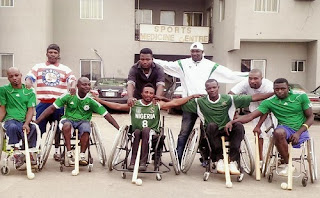NATIONAL WHEEL CHAIR SOFTBALL BODY CLAMOURS FOR SUPPORT