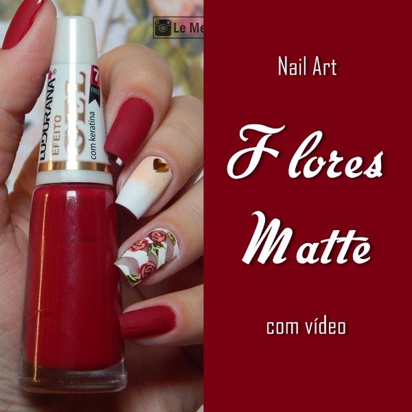 nail-art-flor-matte