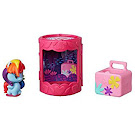 My Little Pony Blind Bags Cafeteria Cuties Rainbow Dash Pony Cutie Mark Crew Figure