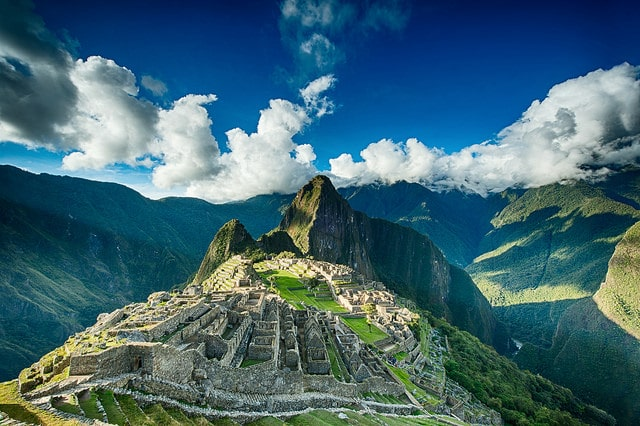 places to visit Machu Picchu, Peru