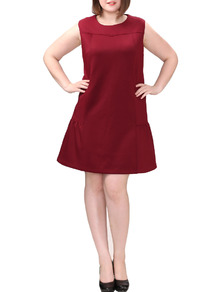 www.shein.com/Plus-Size-Ruffle-Hem-Bakc-Zip-Burgundy-Dress-p-270185-cat-1889.html?aff_id=2525