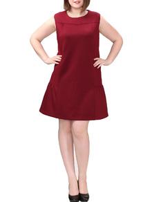 www.shein.com/Plus-Size-Ruffle-Hem-Bakc-Zip-Burgundy-Dress-p-270185-cat-1889.html?aff_id=2525