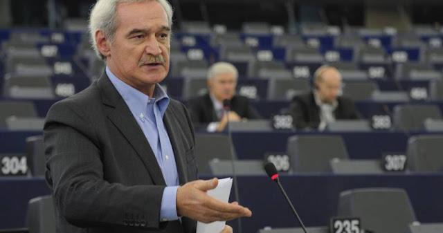 Ο ευρωβουλευτής της Λαϊκής Ενότητας (ΛΑΕ) Νίκος Χουντής την Τρίτη στην Ηγουμενίτσα