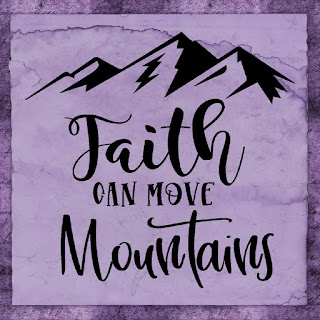 Make this month the month that your faith can move mountains. This printable quote comes in 9 different formats so you will always believe and have your faith renewed wherever you are.