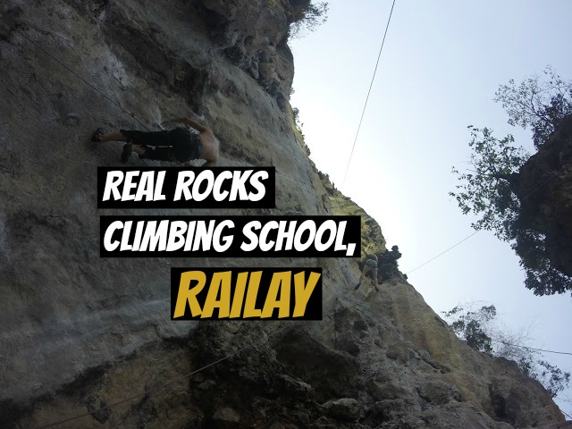 Real Rocks Climbing School Railay