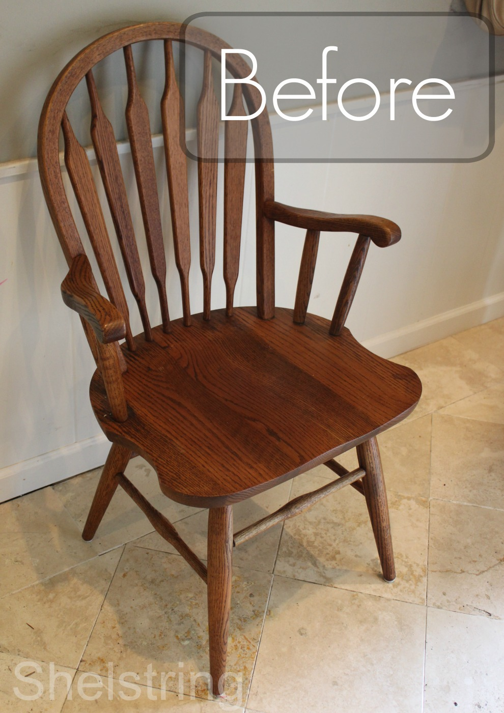 Furniture Refresh Challenge  Entry Chair