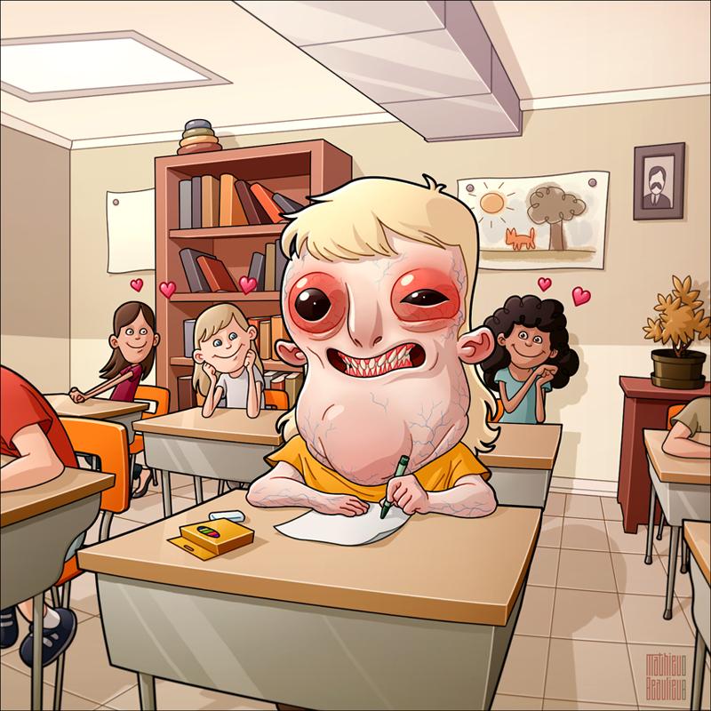 Bạn thích giáo viên nào nhất trong quảng đời học sinh của mình?
