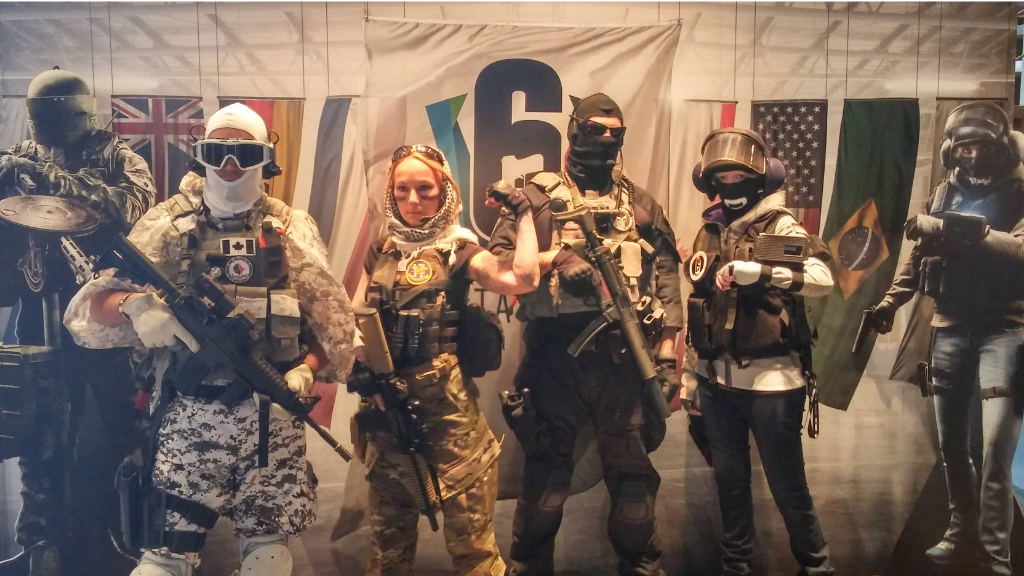 Six Invitational 2019 cosplayers