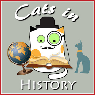 Cats in history badge