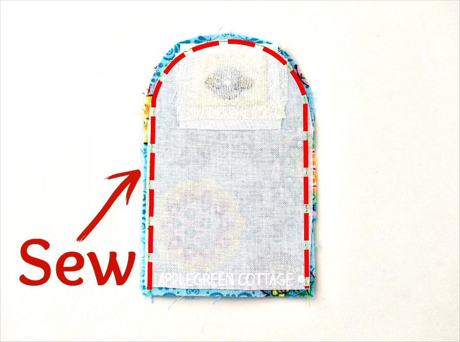 How To Add Magnetic Snaps To a Bag - AppleGreen Cottage