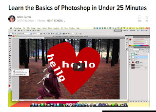learn photoshop fast