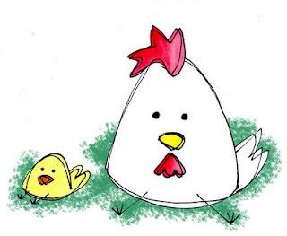 la gallinita rima