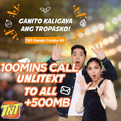 TNT Panalo Combo 60 - PC60 : Unli All Net Text + 500MB + 100mins Tri-net Call for 7 Days