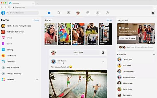 """شاهد فيس بوك في شكلة الجديد - التحديث الاخير لمواقع الشات والتواصل الاجتماعي""""Facebook"""" - تنزيل تحديث فيس بوك للاندرويد"""