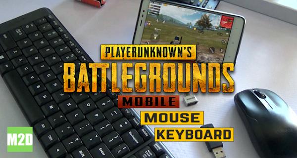 Main PUBG Mobile dengan Mouse dan Keyboard