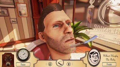 the barber shop تحميل لعبة