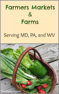 Farmers Markets and Farms Serving MD, PA, and WV