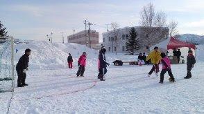 Winter Festival on northern latitude of 45 degrees, Nakatonbetsu, Hokkaido
