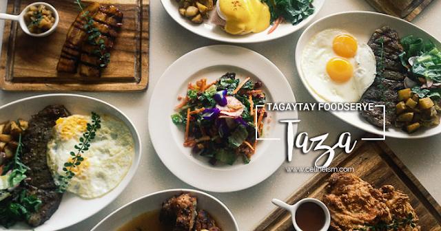 taza restaurant tagaytay