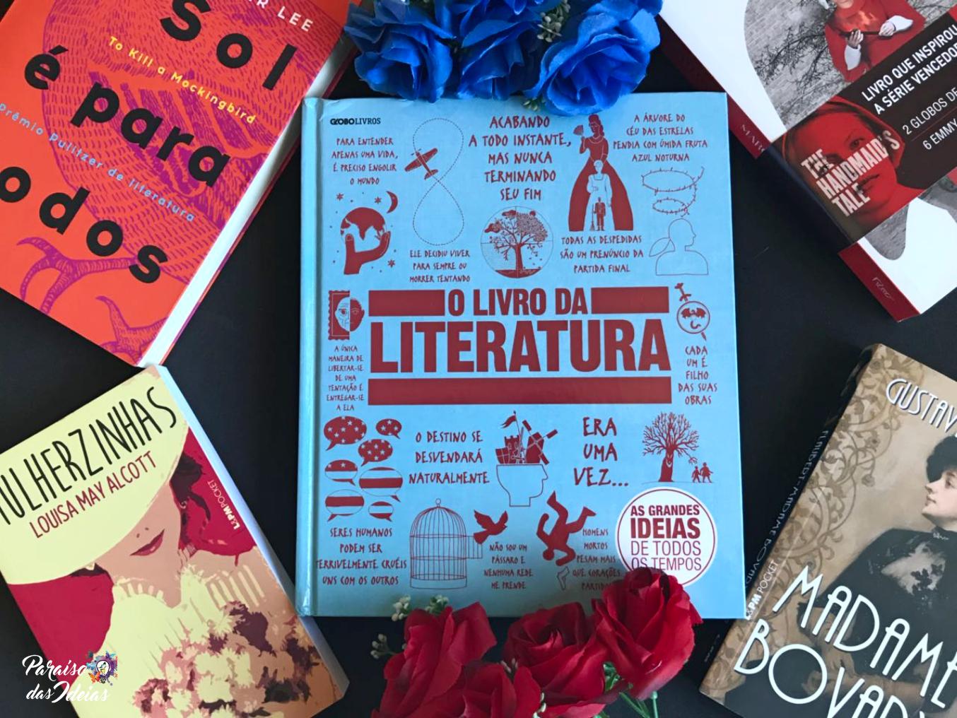 [Resenha] O Livro da Literatura - Vários Autores
