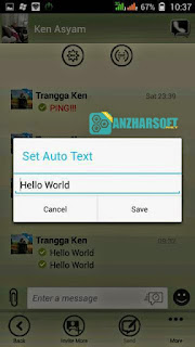 BBM WP Monochrome  - BBM Mod Android dengan Autotext dan DP No Cropping v2