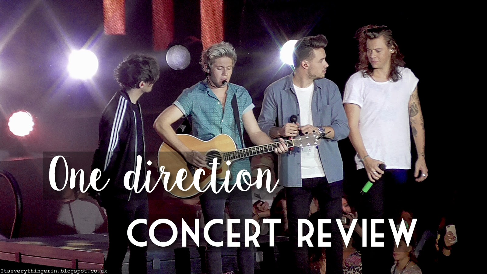 One Direction On The Road Again Tour Concert Review
