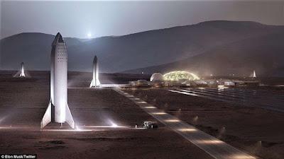 Έλον Μασκ: Έτσι θα ΄ναι η πρώτη διαστημική βάση στον Άρη