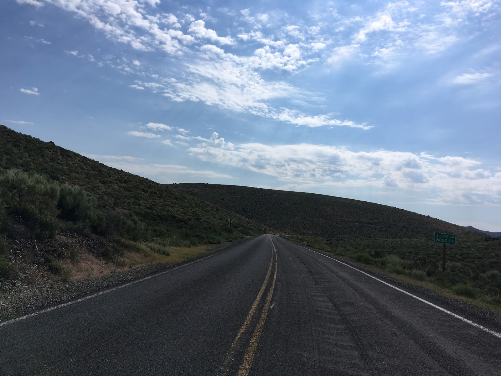 approaching the eastern terminus of ca 270 you are greeted by rough road and pavement ends signage