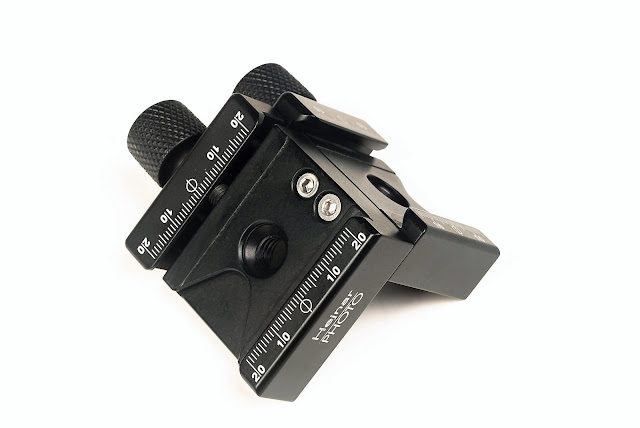 Hejnar PHOTO F52 90° angle QR Clamp long jaw side
