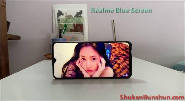 Layar HP Realme Blue Screen Mengatasi Rusak Error