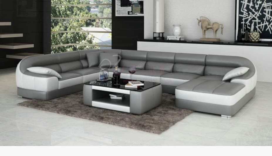 40 modern sofa set designs for living room interiors 2018 for Hall furniture design sofa set