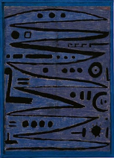 Paul Klee painting - Heroic Strokes of the Bow