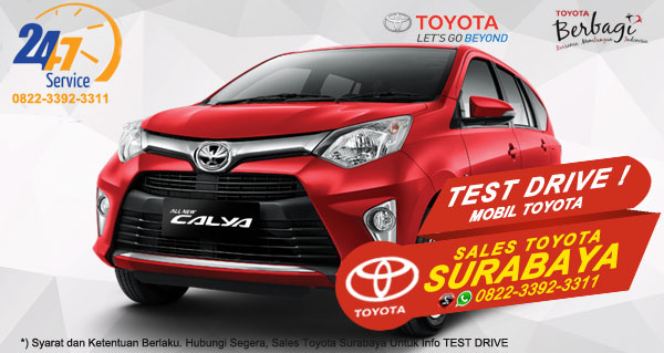 Info Test Drive Toyota Calya Surabaya