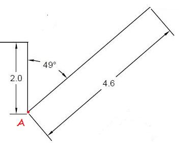 belajar autocad - membuat line dengan sudut