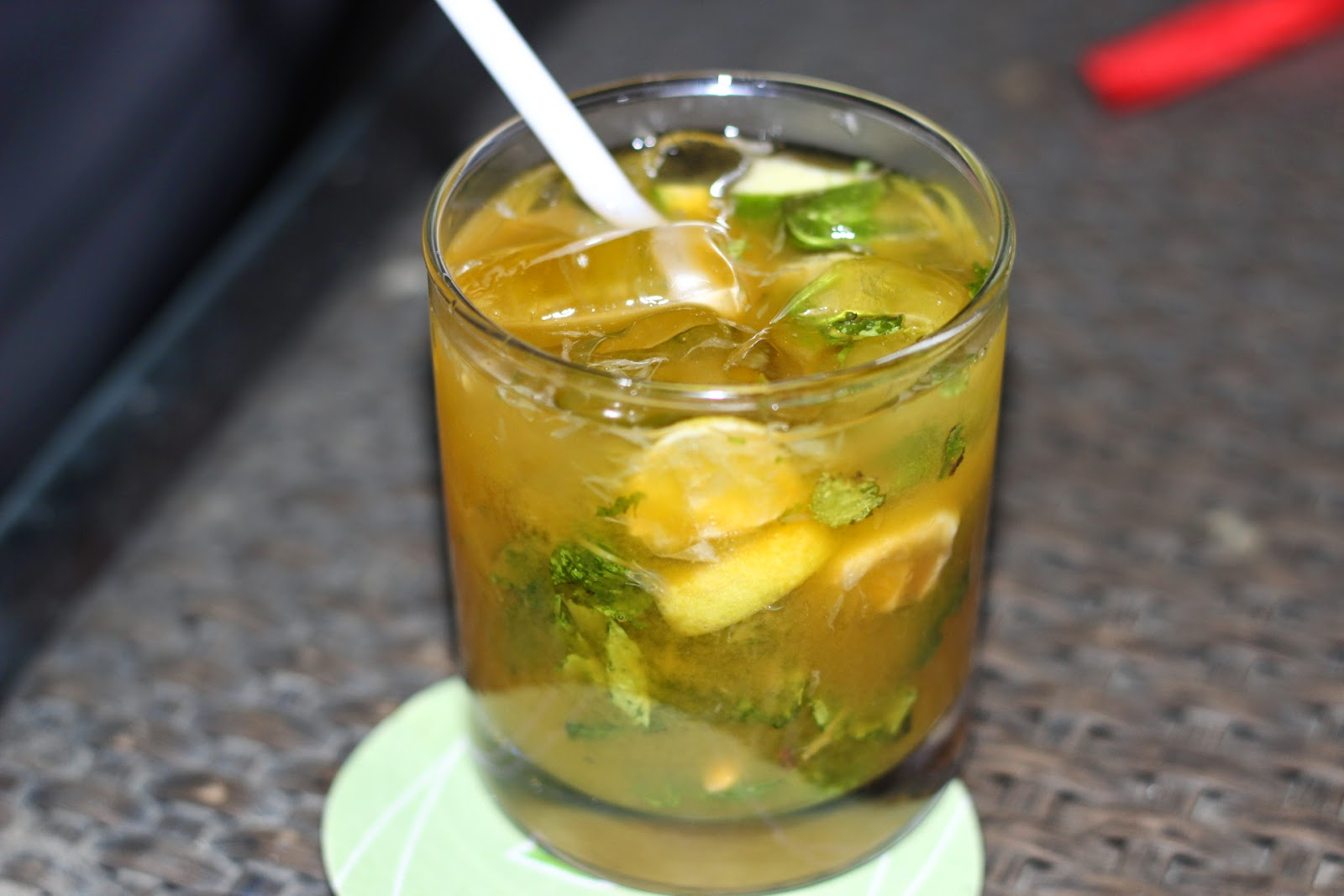 Mango and Lime Mojito