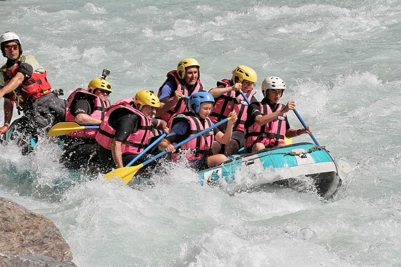 Les deux Alpes rafting